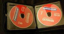 Pimsleur Conversational German Language Course 8 CDs