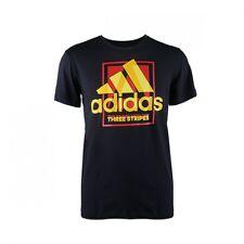 adidas Mens Country Logo Black T-Shirt AI6033 XXL