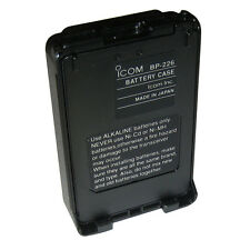 ICOM BP226 ALKALINE BATTERY TRAY FOR M88 5 AA BATT