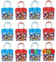 Mickey Mouse and Friends Party Favor Treat Goody Candy Loot Birthday Bags
