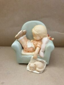 """Mabel Lucie Attwell, memories of yesterday 1998 """"Catnappin"""""""".New-"""