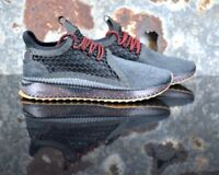 Puma Tsugi Netfit V2 Tone Junior Sneakers Casual 367493 04 Black Size 6.5