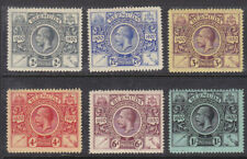 Bermuda 1921 Sg 68-73 MH
