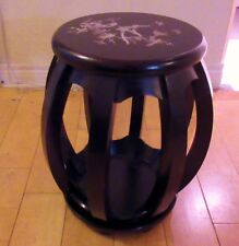 SOLID WOOD stool for GUZHENG or any other Chinese instruments-redwine color