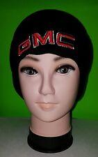GMC car & truck knit hat black