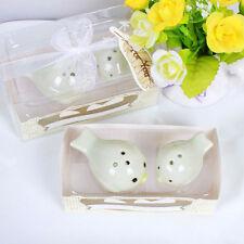 Wedding Favors Love Magpie Birds Ceramic Salt and Pepper Shaker Fashion Gift