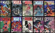 Kull the Conqueror Marvel 1983 3rd Series Comic set 1-2-3-4-5-6-7-8-9-10 Lot REH