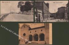 Marche. OSIMO, Ancona. Tre cartoline viaggiate 1915/1917. Buona conservazione.
