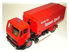 Mercedes Berce Parcours sportif camion Pompiers  1/50 SOLIDO
