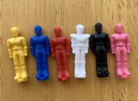 90s Power Rangers Thunderzord Assault Team Miniature Figures (Bandai 1993)