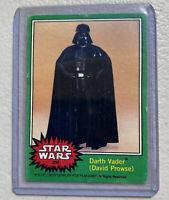 Vintage 1977 Star Wars Trading Card Darth Vader #254