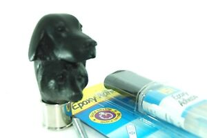 Fox & Hound head Chrome Collar, 8mm rod, 23g 151 resin kit walking stick making