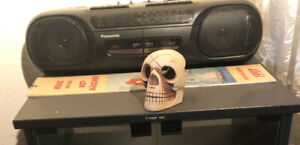 Nagelneues Panasonic Doppel Kassetten Recorder mit Radio