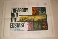 klein,Filmplakat,THE AGONY AND THE ECSTSY,CHARLTON HESTON,REX HARISSON -19