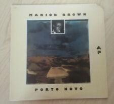 Marion Brown ~ Porto Novo  ... LP 33 t