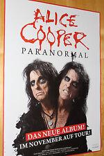 "Alice Cooper ""Paranormal"" Tourplakat/Tourposter 2017 -  NEU - versch. Städte"