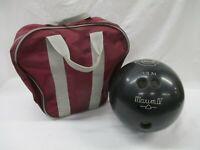 Ebonite Maxim IV Black Bowling Ball 15 lb 11 oz with Bag (AL)