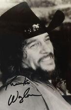 """Waylon Jennings 4x6 Signed Autograph Reprint """"Mint"""" {FREE SHIPPING} 02"""
