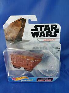 NEW Hot Wheels Star Wars Starships Sandcrawler (New & Sealed) HTF RARE