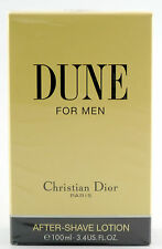 (prezzo base 129,90 €/100ml) CHRISTIAN DIOR DUNE 100ml AFTER SHAVE LOZIONE OVP