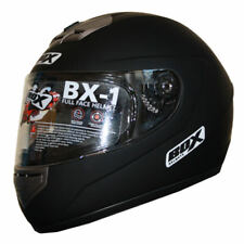 Clearance BOX BX-1 Full Face Motorbike Motorcycle Helmet Sharp 4* MATT BLACK XL