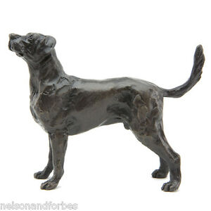 """Sue Maclaurin """"Standing Labrador"""" Solid Bronze Sculpture by Nelson & Forbes"""