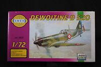 YD050 SMER 1/72 maquette avion 0837 Dewoitine D 520
