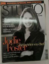 Studio N° 126 1997 Jodie Foster Scorsese Spielberg Hollywood Cinéma indép