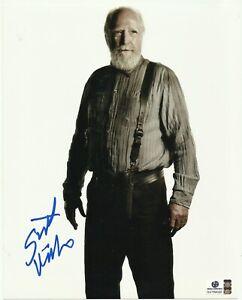 Scott Wilson (Hershel) The Walking Dead Signed Autograph GA Authentic 8x10 Photo