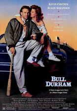 BULL DURHAM Movie MINI Promo POSTER Kevin Costner Susan Sarandon Tim Robbins