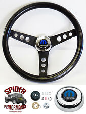 "1970-1974 Charger Challenger steering wheel MOPAR 13 1/2"" CLASSIC BLACK"