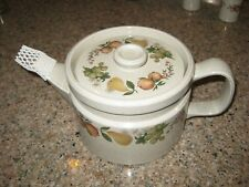 Wedgewood Quince Tea Pot - very gently used - made in England!