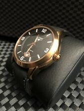 Elysee Men's Automatic Rose Gold  Black Dial Watch