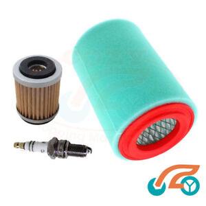 Air Oil Filter Spark Plug For Yamaha 250 Big Bear Bruin Bear Tracker Tune Up Kit