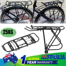 Bicycle Mountain Bike Rear Rack Seat Post Mount Pannier Luggage Carrier Stand AU