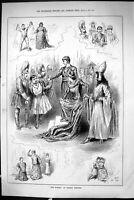 Antique Old Print Sporting Dramatic News 1885 O'Dora Toole'S Theatre Actors