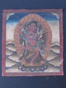 Thangka Tantric Of Tibet, Dakini