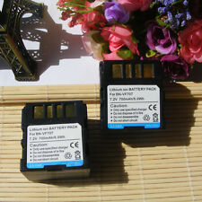2X Battery for JVC BN-VF707U Everio GZ-MG21U GZ-MG37U GZ-MG505 Camcorder
