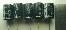 5 x 16v 3300uF Capacitors - LCD / PLASMA TV Repair Kit Replacement 10v 105 Deg.C