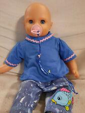 Puppe, Babypuppe,  Weichkörper, Funktion, Schnuller