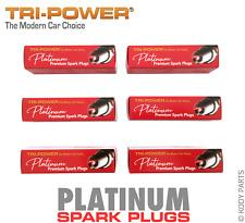PLATINUM SPARK PLUGS - for Kia Grand Carnival 3.8L V6 VQ (G6DA) TRI-POWER