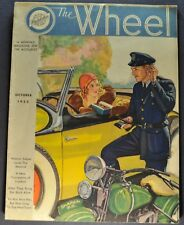 1932 Studebaker Wheel Brochure President Commander Dictator Oct Original 32