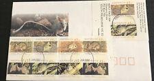 Australia fdc 1992 Threatened Species