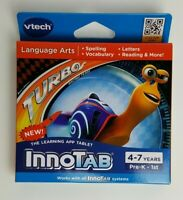 VTECH INNOTAB Dreamworks Turbo Game Educational Ages 4-7 Years