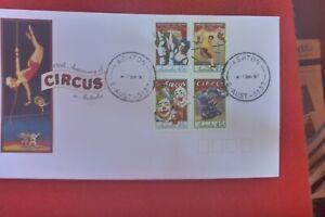 CIRCUS  OF AUST FDC  1997 FDC  ASHTON DATE STAMP (ASHTON CIRCUS )