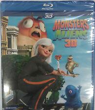 Monsters vs. Aliens 3D Blu-ray BRAND NEW Sealed