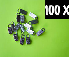 Metal Badge Clips Craft Dummy Clip Strap Pack of 100