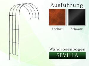 Wandrosenbogen SEVILLA B 100 cm  Halbpergola Pergola Rosebögen