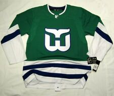 HARTFORD WHALERS size 52 = Large ADIDAS Aeroready Authentic retro Hockey Jersey