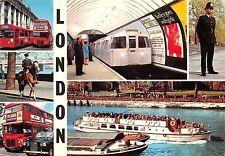 B88944 double decker bus london tube ship bateaux policeman  uk